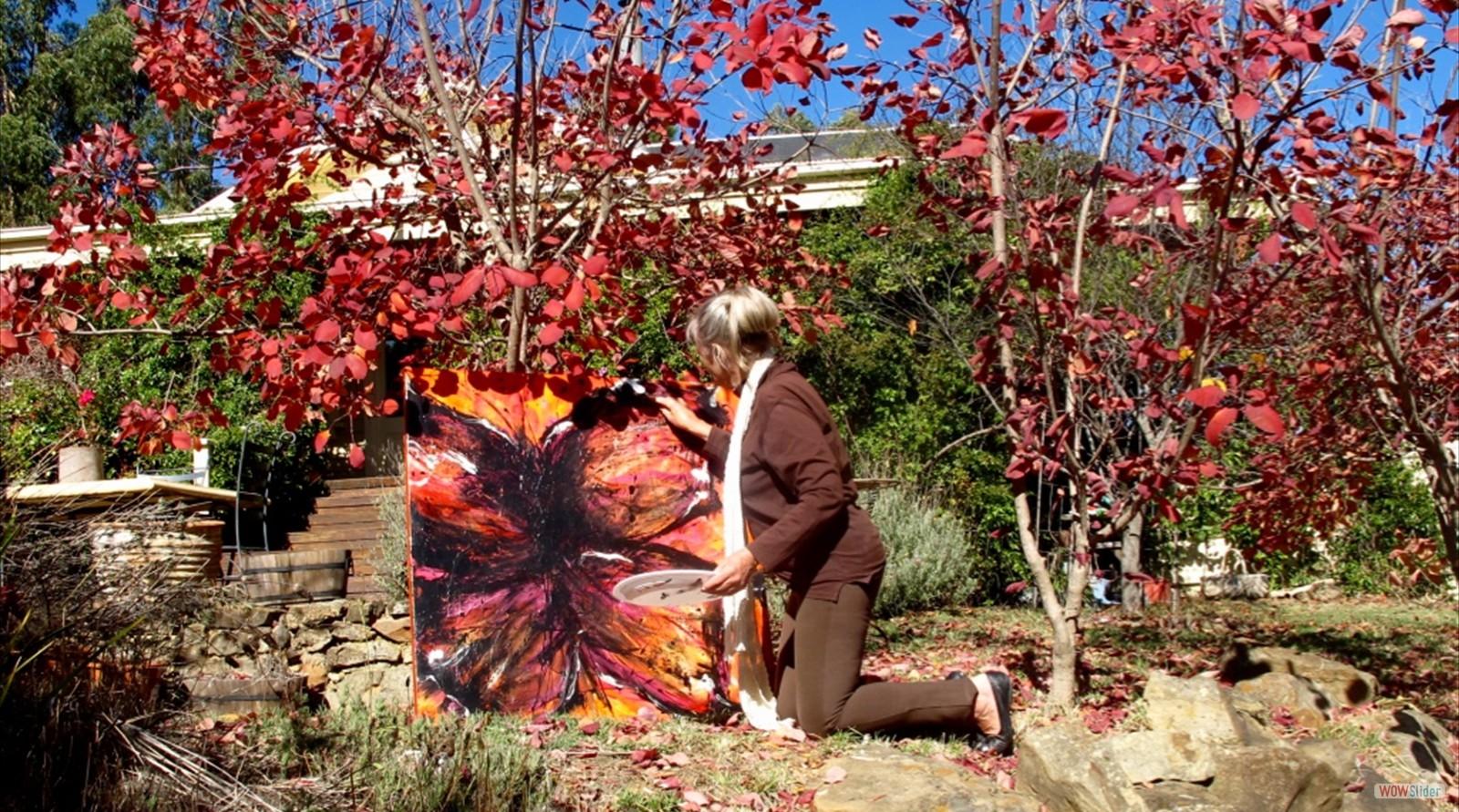 Joy Painting in Autumn